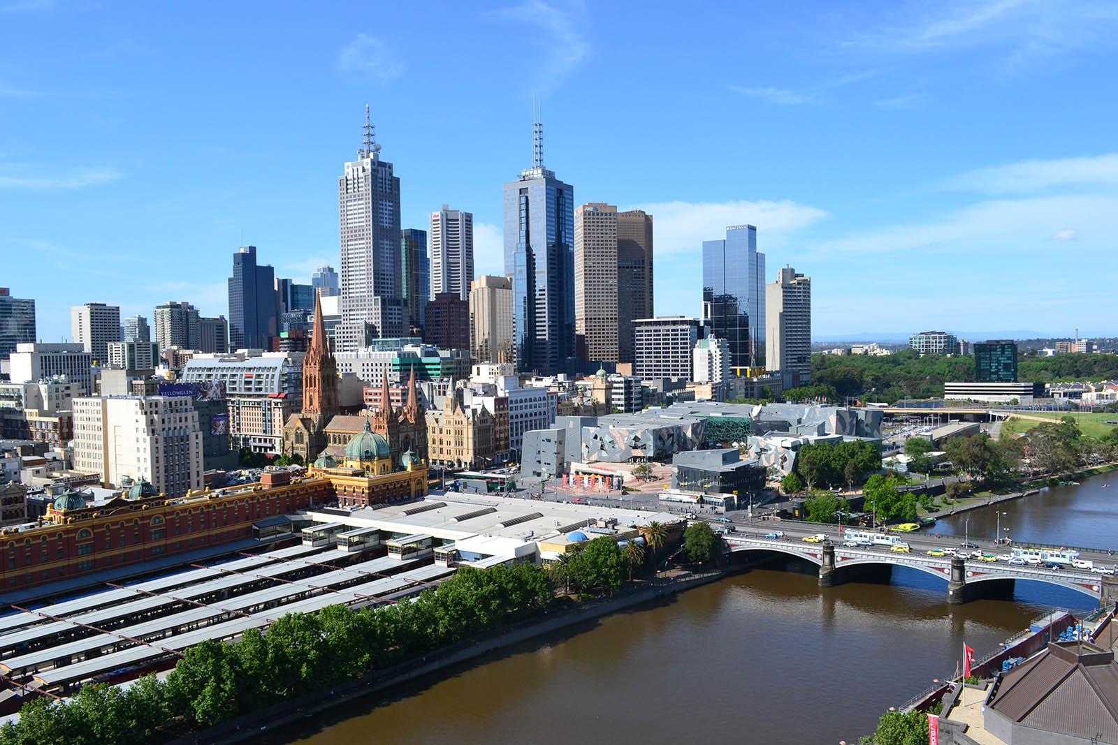 Central Business District, City Centre, Melbourne, Australia